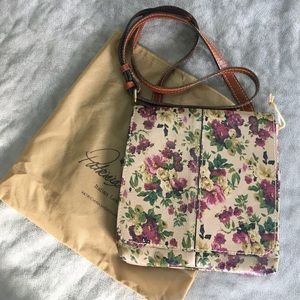 Patricia Nash Floral Leather Cross Body